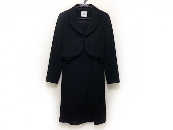 PERSON'S(パーソンズ) ワンピーススーツ サイズ9 M レディース新品同様  黒