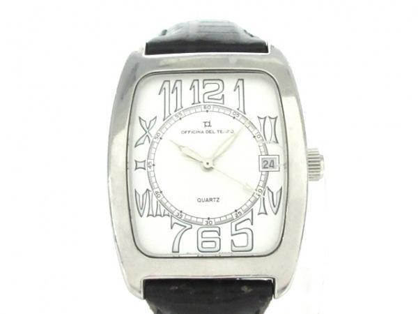 OFFICINA DEL TEMPO(オフィチーナ) 腕時計 OT1007/01 メンズ シルバー