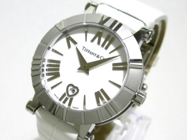 TIFFANY&Co.(ティファニー) 腕時計美品  Z1300.11.11A20A71A レディース 白