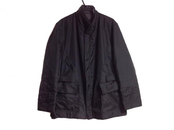 alain mikli(アラン・ミクリ) ブルゾン サイズM メンズ 黒×グレー リバーシブル/冬物