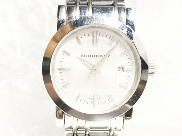 Burberry(バーバリー) 腕時計 BU1351 レディース チェック 白