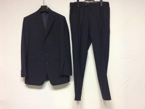 ヴェルサーチ シングルスーツ サイズ48 XL メンズ ダークネイビー COLLECTION