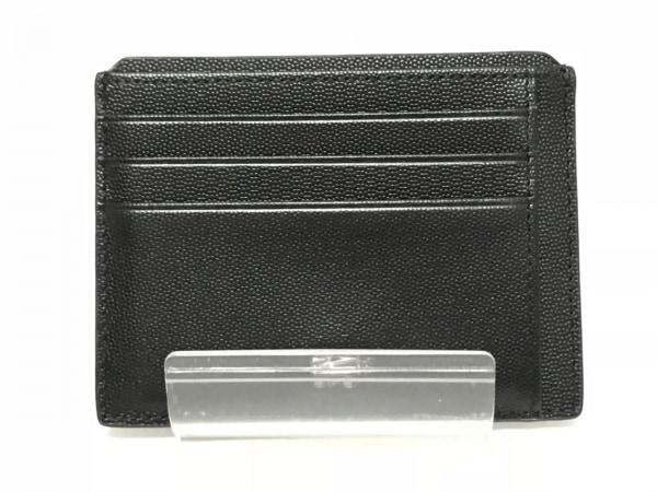 BRAUN BUFFEL(ブラウン ビュッフェル) カードケース美品  黒 レザー