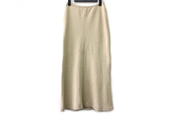 pristine(プリスティン) ロングスカート サイズF レディース ベージュ