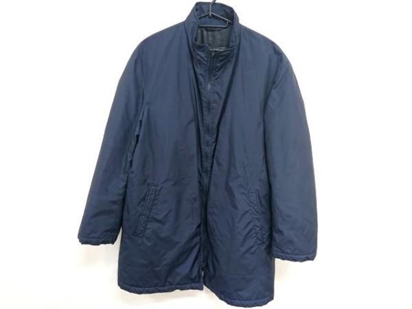 orlando(オルランド) コート サイズ48 XL メンズ 黒 ジップアップ/冬物