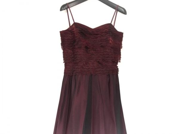 GENETVIVIEN(ジュネビビアン) ドレス サイズ9 M レディース新品同様  ボルドー