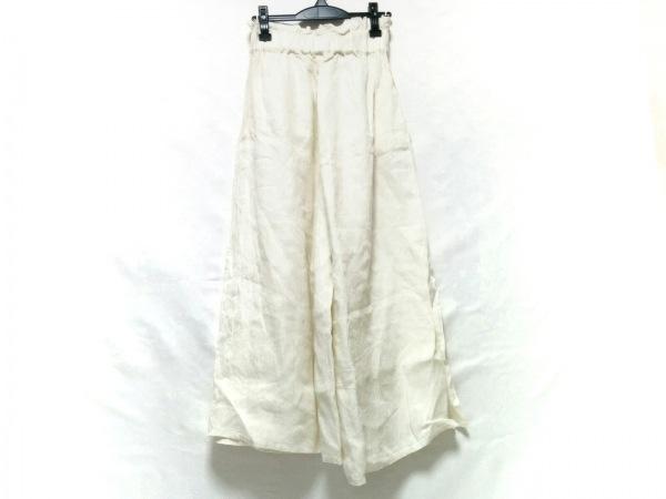 Cloth&Cross(クロス&クロス) パンツ レディース 白 麻