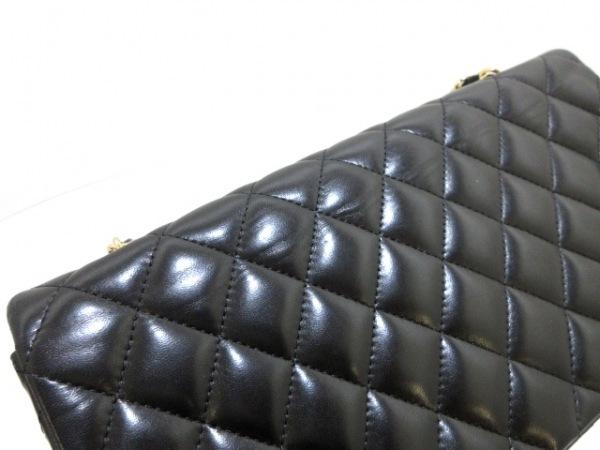 CHANEL(シャネル) ショルダーバッグ美品  マトラッセ A35731 黒 ラムスキン