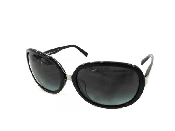 ドルチェアンドガッバーナ サングラス美品  DG2127PD 黒×シルバー プラスチック