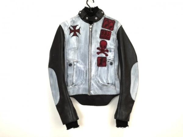 ダイアモンドドッグス ライダースジャケット サイズS レディース美品  レザー