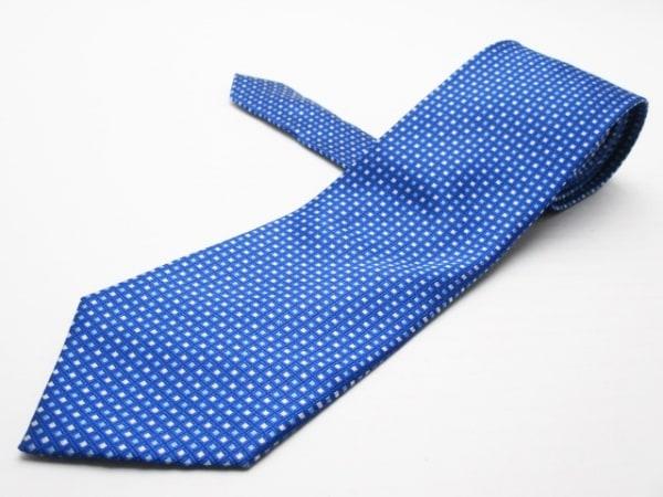 PaulSmith(ポールスミス) ネクタイ メンズ美品  ブルー×ライトブルー×白 チェック柄