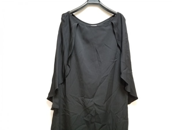 MILLY(ミリー) ワンピース サイズ8 M レディース美品  黒 フリル