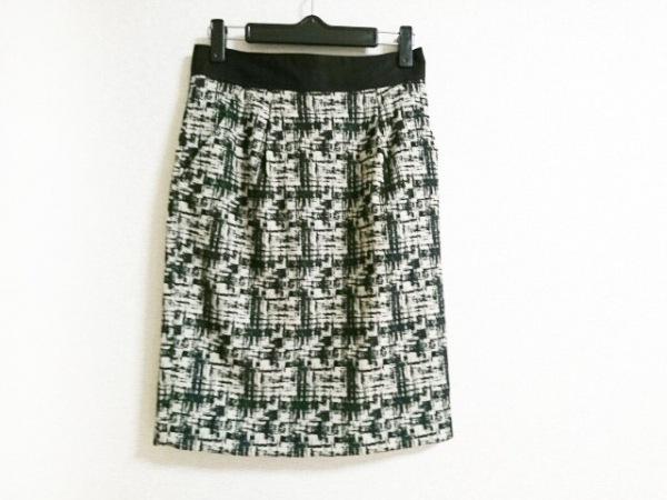 MATERIA(マテリア) スカート サイズ38 M レディース美品  アイボリー×黒