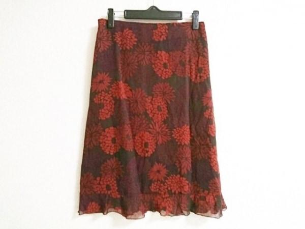 CalvinKlein(カルバンクライン) スカート サイズ2 M レディース美品  花柄
