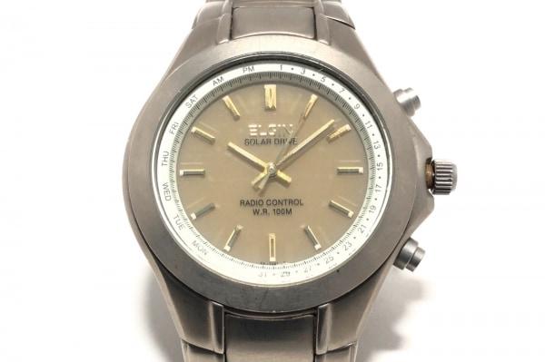 ELGIN(エルジン) 腕時計 FK-1241-GP メンズ ベージュ