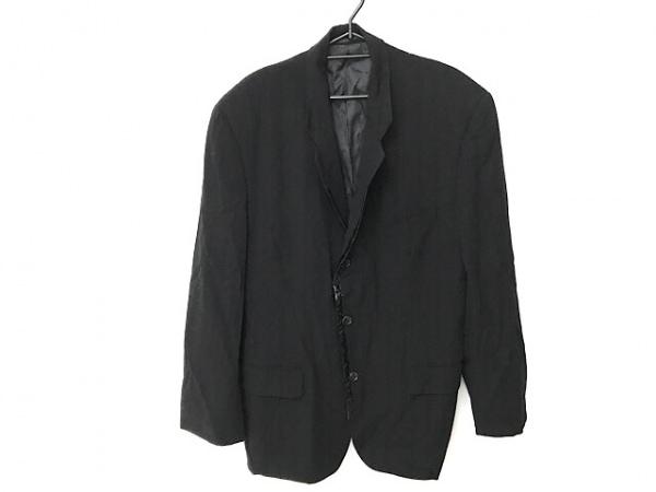 コムデギャルソンオムプリュス ジャケット サイズM メンズ 黒 肩パッド