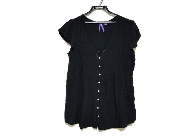 Seraphine(セラフィン) 半袖カットソー サイズUK10 M レディース美品  黒