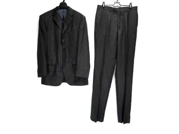 FICCE(フィッチェ) シングルスーツ サイズ96A7 メンズ 黒 肩パッド