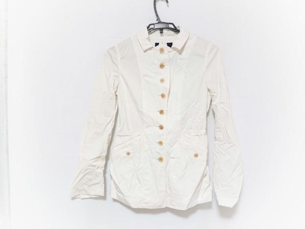 MACPHEE(マカフィ) ジャケット サイズ40 M レディース アイボリー 春・秋物