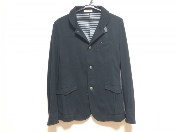 HIDEAWAYS NICOLE(ハイダウェイニコル) ジャケット サイズ48 XL メンズ 黒