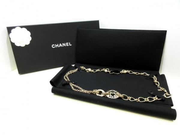 CHANEL(シャネル) ネックレス美品  金属素材×フェイクパール ゴールド×アイボリー