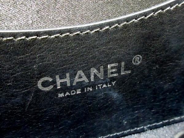 CHANEL(シャネル) ショルダーバッグ ワイルドステッチ 黒 カーフレザー