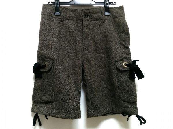 Cloth&Cross(クロス&クロス) パンツ サイズ2 M レディース新品同様  グレー×マルチ