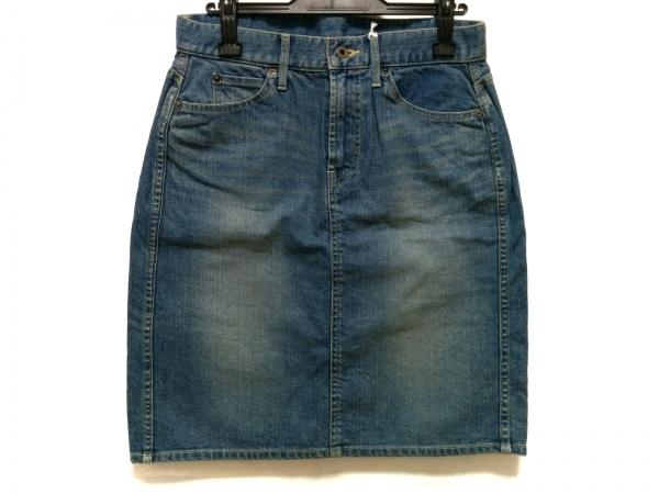 Cloth&Cross(クロス&クロス) スカート サイズF レディース美品  ブルー
