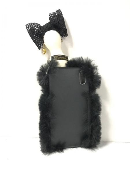 Demodee(デモデ) 携帯電話ケース美品  18ACPC01-ARIA 黒×アイボリー×マルチ