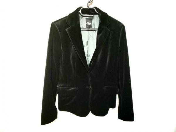 Harriss(ハリス) ジャケット サイズ36 S レディース 黒 ベロア