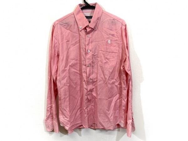 Laura Felice(ラウラフェリーチェ) 長袖シャツ サイズ46 XL メンズ ピンク