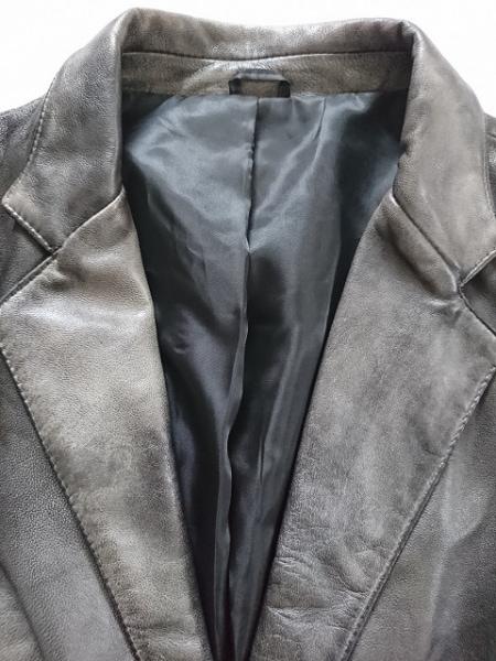 barassi(バラシ) ジャケット サイズ52 XL レディース ダークグレー レザー