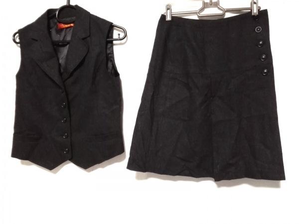 YORKLAND(ヨークランド) スカートセットアップ サイズ9 M レディース ダークグレー