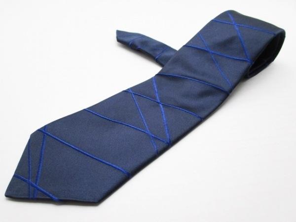 GIORGIOARMANI(ジョルジオアルマーニ) ネクタイ メンズ ダークネイビー×ブルー