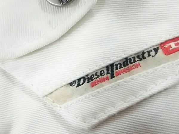 DIESEL(ディーゼル) キャップ 2 白×ブラウン×マルチ コットン×ポリエステル