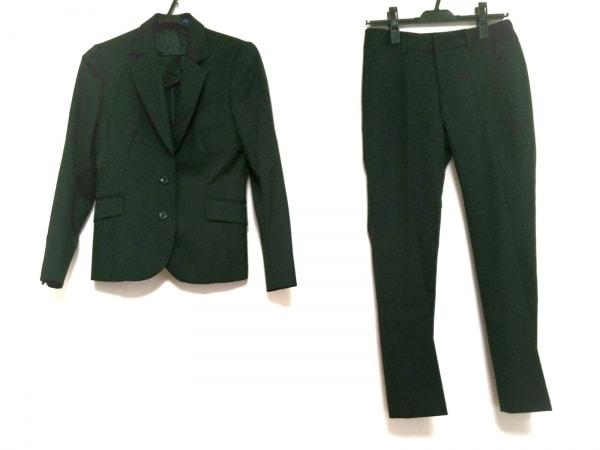LES MUES(レミュー) レディースパンツスーツ サイズS レディース 黒 パンツ2点セット