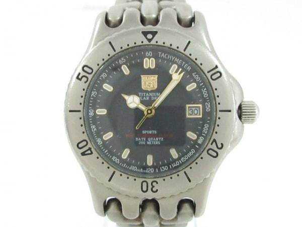 ELGIN(エルジン) 腕時計 FK-938-C メンズ ダークグレー