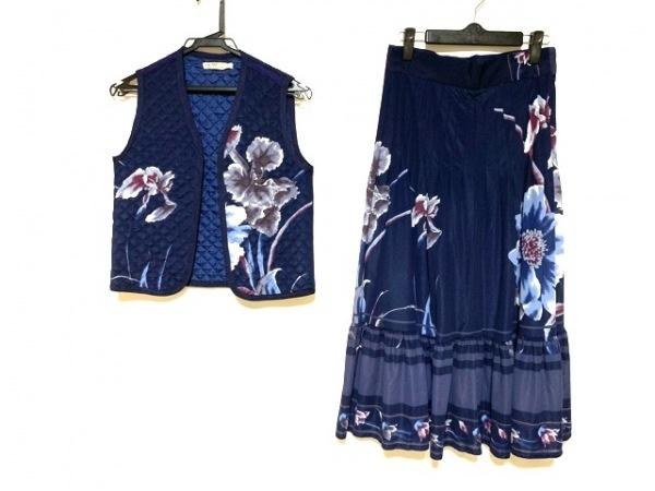 La ModaGOJI(ラモーダゴジ) スカートセットアップ サイズ9 M レディース美品  花柄