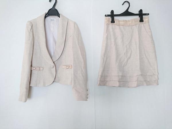petitpoudre(プチプードル) スカートスーツ サイズ11 M レディース美品  リボン/ラメ