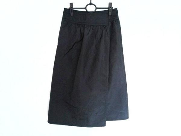 tricot COMMEdesGARCONS(トリココムデギャルソン) 巻きスカート レディース美品  黒