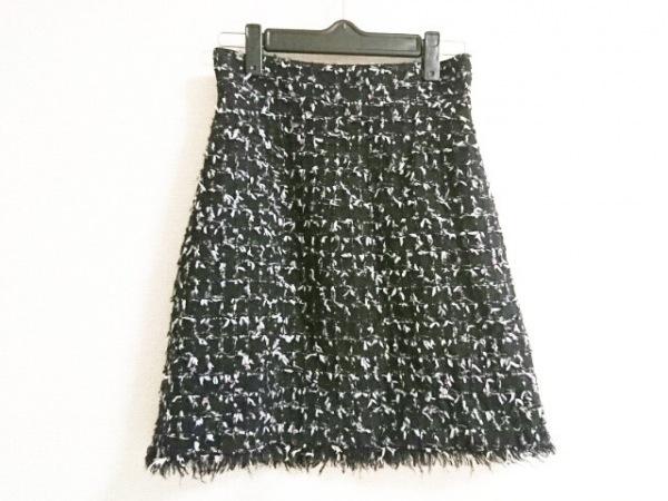 CHANEL(シャネル) スカート サイズ34 S レディース 黒 ツイード