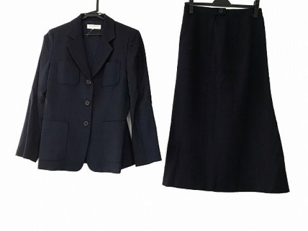 Harriss(ハリス) スカートスーツ サイズ38 M レディース美品  ネイビー