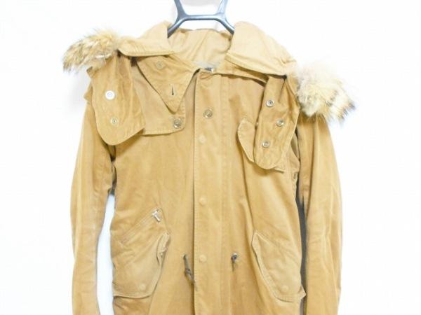 THREEBLINDMICE(スリーブラインドマイス) コート サイズ36 S メンズ ブラウン 冬物