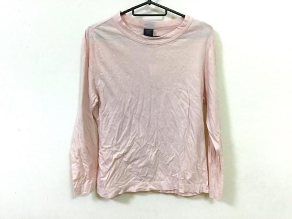 homspun(ホームスパン) 長袖Tシャツ サイズL レディース ベージュ