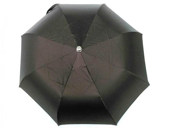 マリア・フランチェスコ 折りたたみ傘美品  ダークブラウン ポリエステル