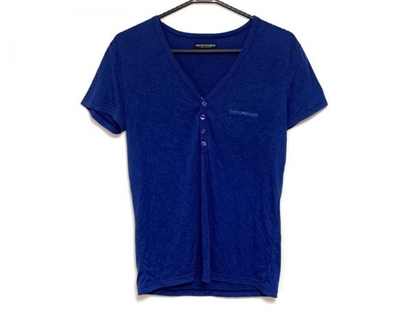 エンポリオアルマーニ アンダーウェア 半袖カットソー メンズ ブルー