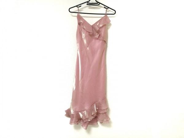 La Defence(ラデファンス) ドレス レディース美品  ピンク