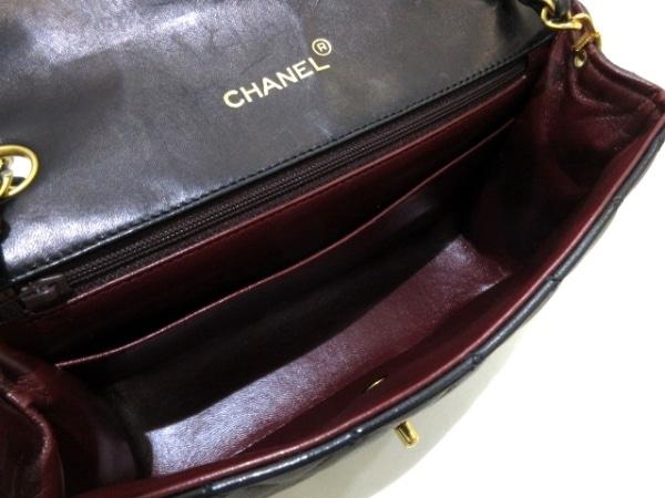 CHANEL(シャネル) ショルダーバッグ マトラッセ 黒 チェーンショルダー/ゴールド金具