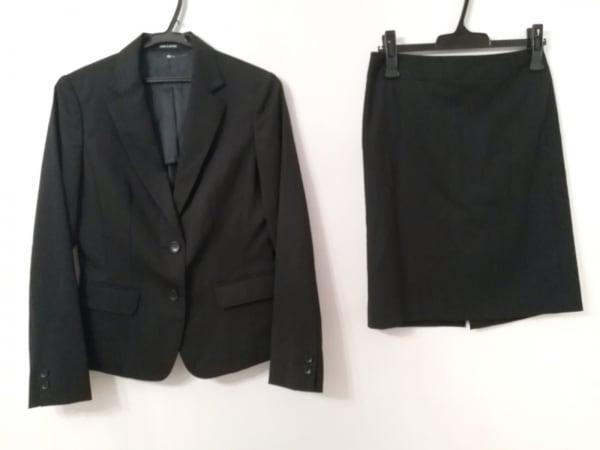 COMME CA DU MODE(コムサデモード) スカートスーツ サイズ9 M レディース美品  黒