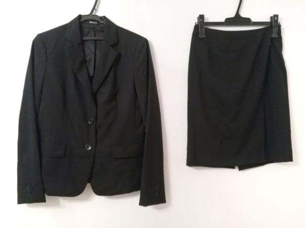 COMME CA DU MODE(コムサデモード) スカートスーツ レディース美品  黒 3点セット